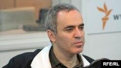 Гарри Каспаров в студии Радио Свобода