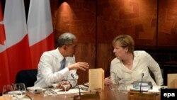 Presidenti Barack Obama dhe Kancelarja Angela Merkel