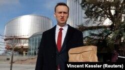 სტრასბურგი, 2018 წლის 24 იანვარი: ალექსეი ნავალნი ადამიანის უფლებათა ევროპულ სასამართლოსთან