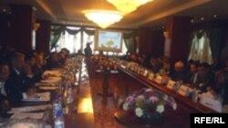 Ҳамоиши рушди гузаргоҳҳои нақлиётии минтаӯа дар Душанбе, 23 октябри 2007