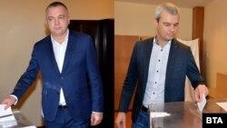 Иван Портних и Костадин Костадинов