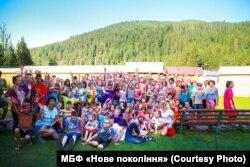 Табір у Карпатах для дітей із сиротинців