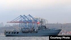 Корабль «Контр-адмирал Ксаверий Черницкий» (Польша). Фото пресс-центра Командования ВМС ВС Украины