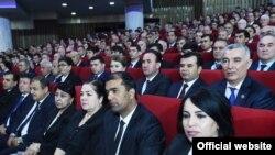 Маросими таҷлили рӯзи забони тоҷикӣ дар Душанбе. 4 октябри 2019