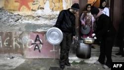 Имигранти во Атина
