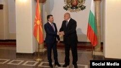 Zoran Zaev i njegov bugarski kolega Bojko Borisov u Sofiji, juni 2017