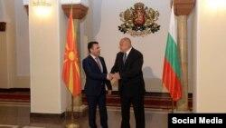 Премиерот Зоран Заев се сретна со неговиот бугарски колега Бојко Борисов во Софија 20 јуни 2017