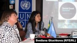 Участники Форума Социального Добра. Астана, 24 сентября 2012 года.