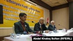 هيئة رئاسة ملتقى الادباء والكتاب الكرد في دهوك