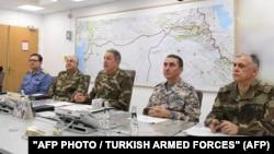 Անկարա - Թուրքական զինուժի ղեկավարությունը քննարկում է Աֆրինի քրդերի դեմ գործողությունները, 20-ը հունվարի, 2018թ․