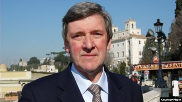 Vatican affairs analyst Gerard O'Connell