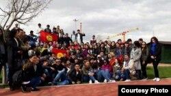 Кыргызские студенты в Турции.