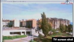 Prikazani kvart Sarajeva, gađan s položaja VRS-a