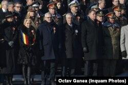 Liderii de stat prezenți la ceremoniile de la Arcul de Triumf
