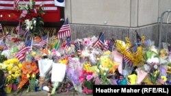 Mesto tragedije u Bostonu