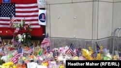 Iамерка -- Бостон, Boylston Street - урам, марафонехь лелхийтарш дина 8 де даьллачул тIаьхьа, 23Охан2013