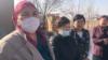 Учителя средней школы № 125, которые открыто пожаловались на поборы в школах. Шымкент, 10 ноября 2020 года.