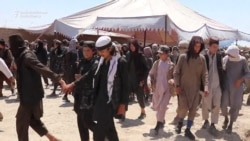 Video Shows Islamic State Militants Who Surrendered In Afghanistan