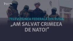 """""""Am salvat Crimeea de NATO și Ucraina"""". Cum au marcat televiziunile rusești cei 5 ani de la anexare"""