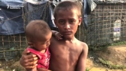 Rohingya Refugees Seek Safety In Cramped Bangladesh Camp