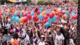 Rally Outside Parliament Ahead Of Vote For Armenian PM