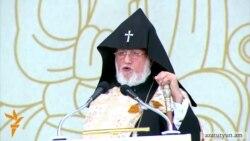 Католикос Папе Римскому: Армянский народ ждет, что Турция прислушается к Вашему наставлению