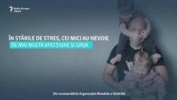 Cum să-i ajutăm pe copii să depășească stresul provocat de Covid-19. Recomandările OMS