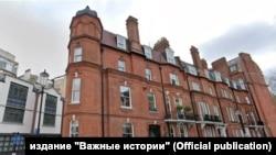 Дом в центре Лондона, которым владеет экс-оффшор Игоря Комарова