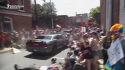 Car Rams Crowd Protesting White Nationalists In Virginia