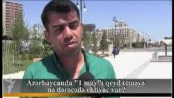 """Azərbaycanda """"1 may""""ı qeyd etməyə nə dərəcədə ehtiyac var?"""