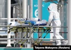 Больной коронавирусом. Москва, 2 июля 2021 года