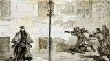 Покушение А.Соловьева на Александра Второго на Дворцовой площади, 1879