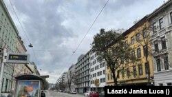 A Dresdner utca Bécsben a lezárások idején, 2020. november 17. A fotót egy Bécsben élő magyar készítette.