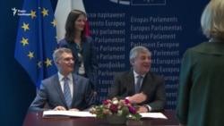 У Європарламенті підписали угоду про «безвіз» для України (відео)