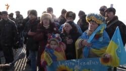 У Запоріжжі створили «живий ланцюг» з нагоди Дня Соборності