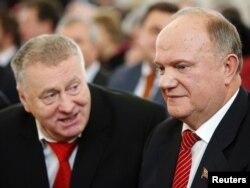 Владимир Жириновский и Геннадий Зюганов. Фото Reuters