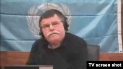 Tomislav Delić, svjedok obrane preko video-linka iz Banjaluke