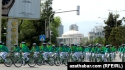 Türkmenistan, weloýörişe gatnaşyjylar