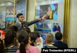 Нұрсұлтан Назарбаев музейіндегі балалар экскурсиясы. Шамалған, 28 қараша 2018 жыл