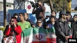 Прослава во Иран за постигнувањето рамковен договор меѓу земјата и шесте светски сили.
