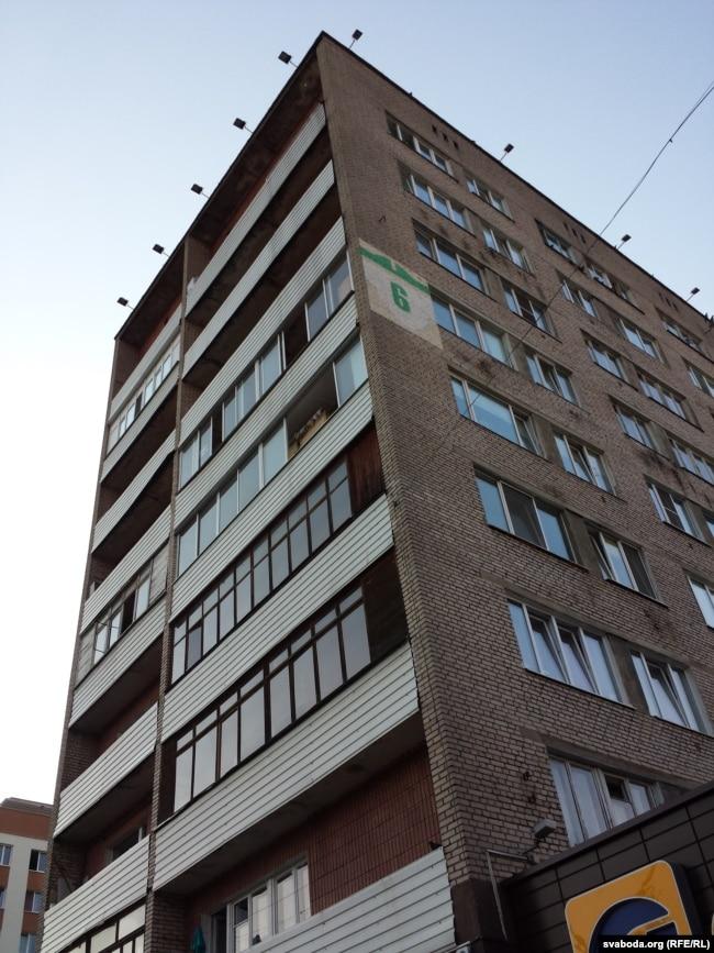 Дом на Прытыцкага, 6, дзе ў апошнія гады жыў Стральцоў