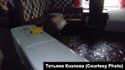 Затопленные дома в Алтайском крае