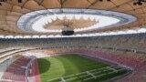 Arena Națională. Un stadion construit cu o sumă suspect de generoasă. Acoperișul a costat nu mai puțin de 20 mil. euro și nu poate fi folosit decât ca umbrar. Nu pe ploaie, nu pe ninsoare.