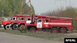 Ukraine -- Fare in Chornobyl zone