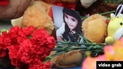 На месте убийства пятилетней таджикской девочки Хувайды в Серпухове