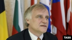 Robert Pszczel, the director of the NATO Information Center in Moscow, who has stepped down after four years in the job.