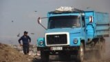 Kyrgyzstan-Bishkek central landfill, 30Apr14