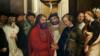"""""""Свадьба святого Алексия"""", репродукция картины Гарсии Фернандеса, 1541 год"""
