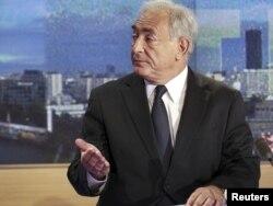 Домінік Стросс-Кан на французькому телебаченні