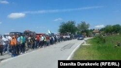 Granični prijelaz Izačić u blizini Bihaća, 27. maja 2016.
